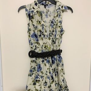 BCX small Floral Flare dress